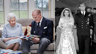 The Queen and Prince Phillip married in 1947