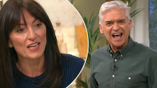 Davina used a 'banned' word on This Morning