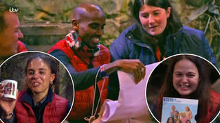 The I'm A Celebrity stars received their luxury items