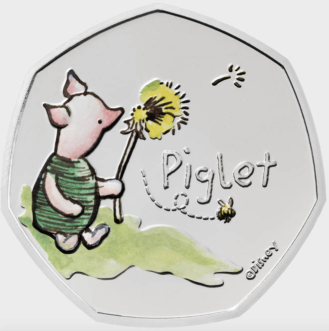The Piglet coin is out now