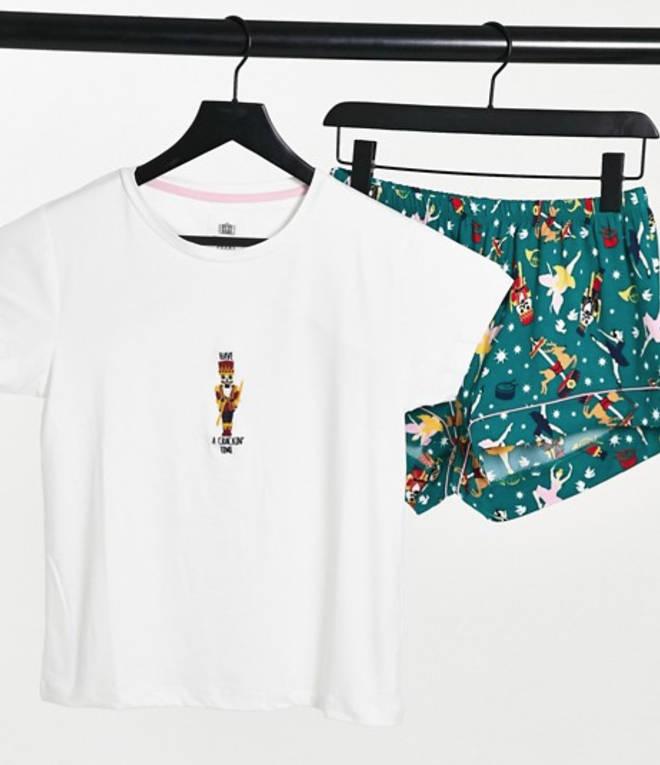 Chelsea Peers Nutcracker Pyjama Set, £30.00