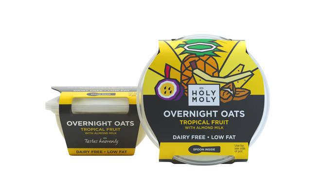 Holy Moly overnight oats
