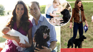 Kate Middleton and Prince William said Lupo was the 'heart' of their family