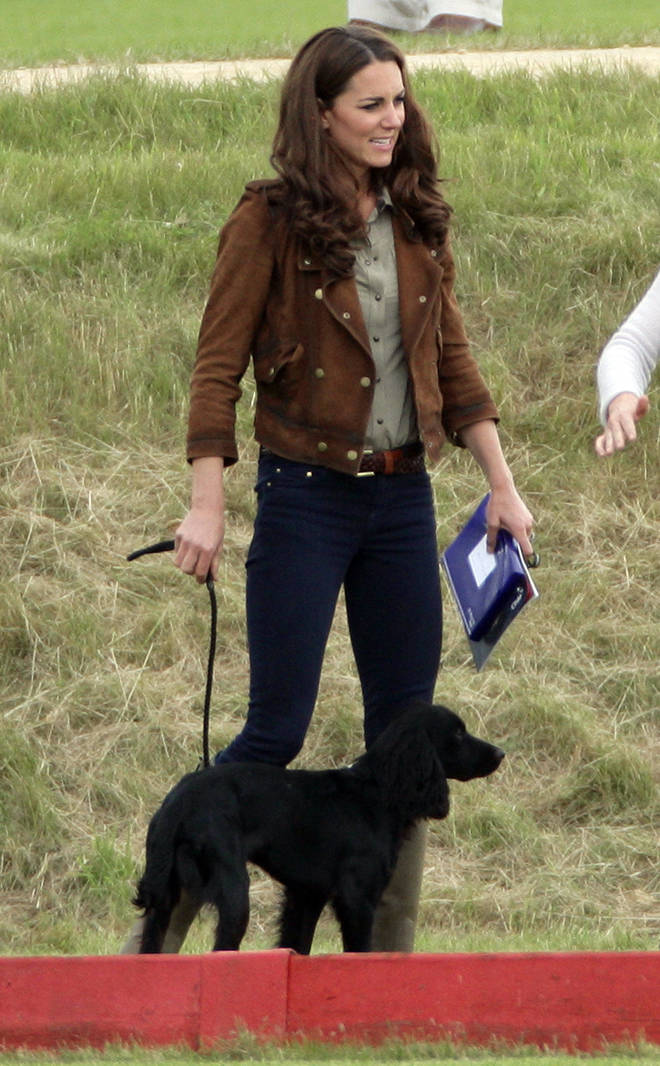Kate and William have had the dog for nine years