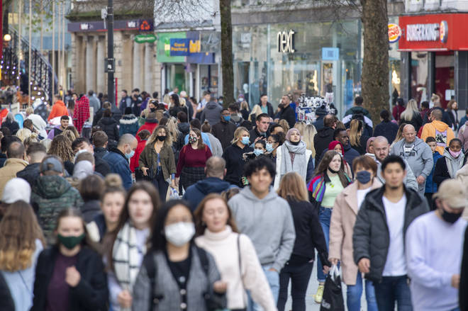The reopening of shops will allow people to do their Christmas shopping
