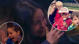 Giovanna Fletcher has a secret hand gesture to her kids