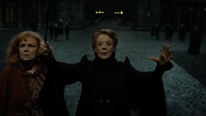 Professor McGonagall has been voted the greatest character in the Harry Potter series