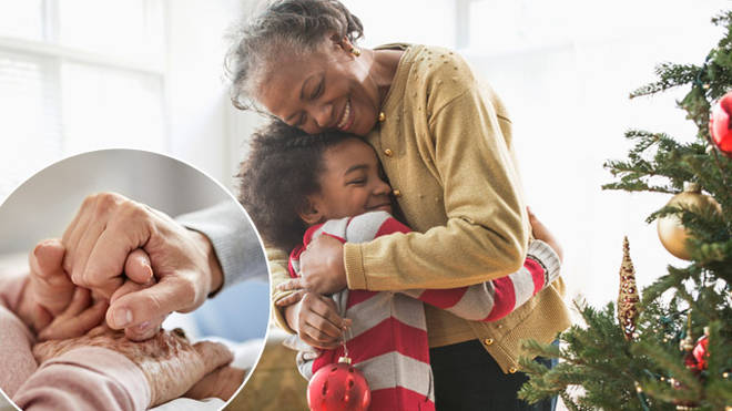 Elderly relatives could spend time with their families this Christmas