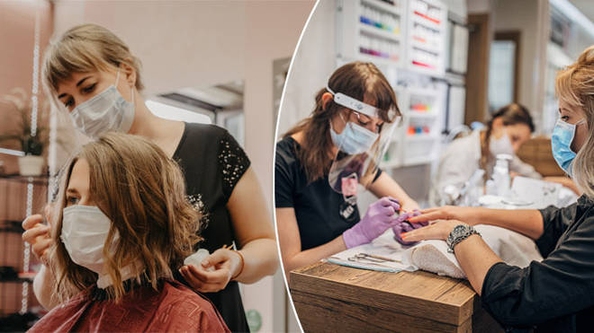 Hairdressers and salons will reopen in December in England