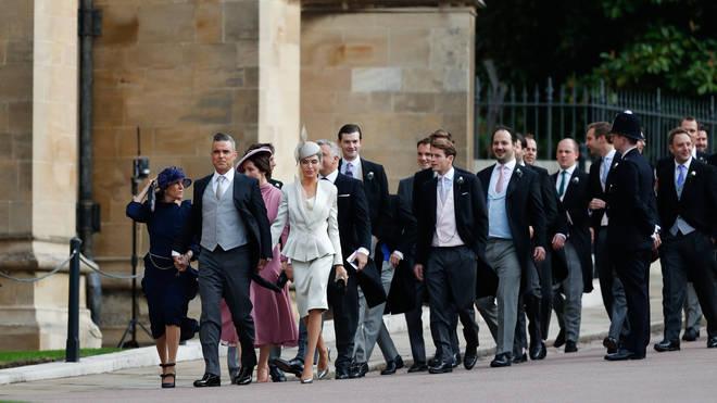 Robbie Williams Eugenie wedding