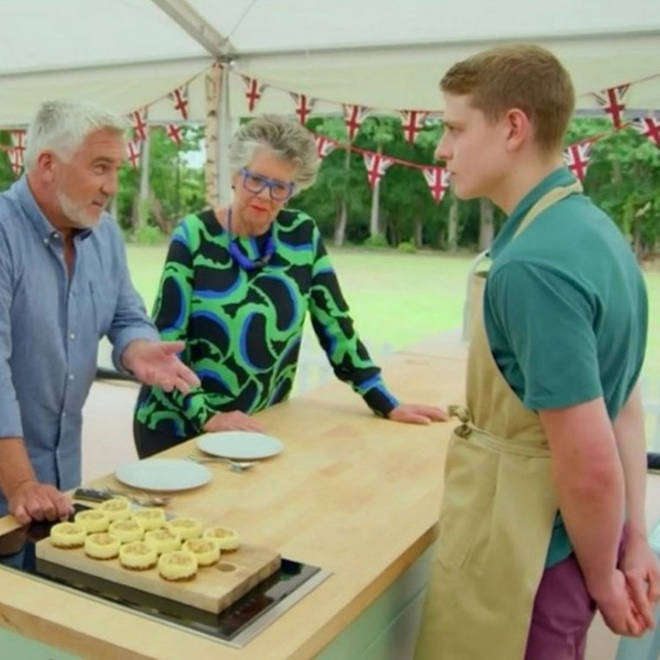 Peter is the favourite to win Bake Off
