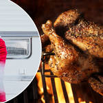 Cooking your turkey on the BBQ might be a new favourite Christmas tradition