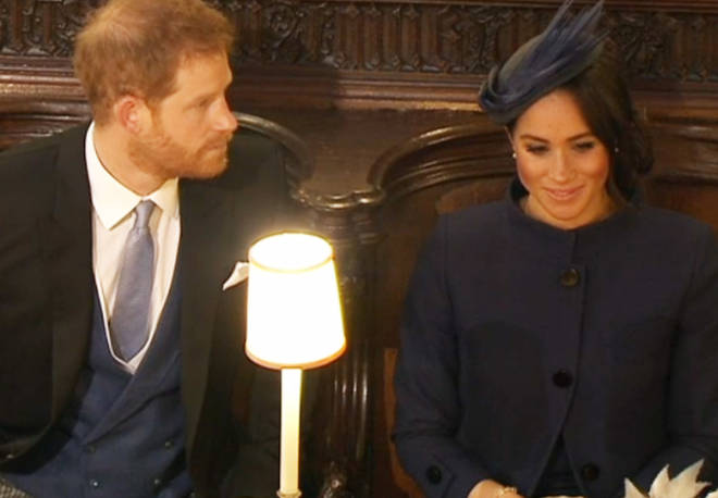 Prince Harry and Meghan Markle Eugenie wedding
