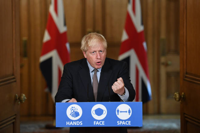 """The Prime Minister said families will need to make a """"personal judgement"""" about the risk of forming a bubble or visiting elderly relatives"""