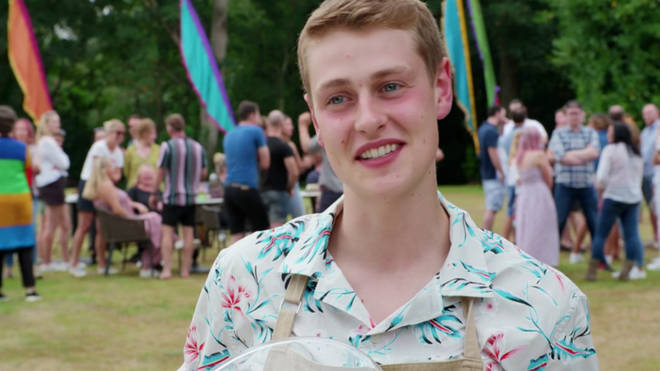 Peter was named winner of The Great British Bake Off 2020