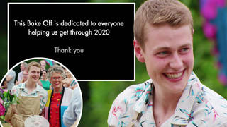 Bake Off fans were left emotional as the show put together a special montage for the finale
