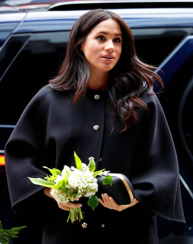 The Duchess of Sussex said the loss has caused 'unbearable grief'