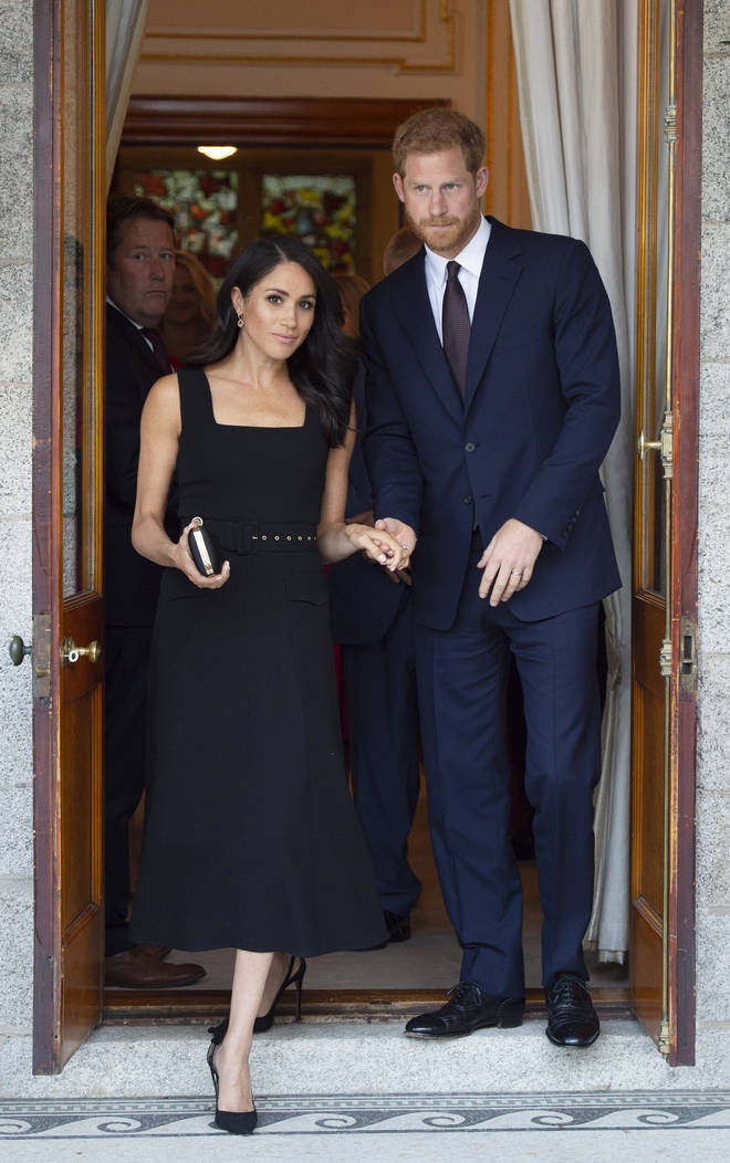 """The Duchess of Sussex said she was speaking out about her tragic loss as she still feels it is a """"taboo"""" subject"""
