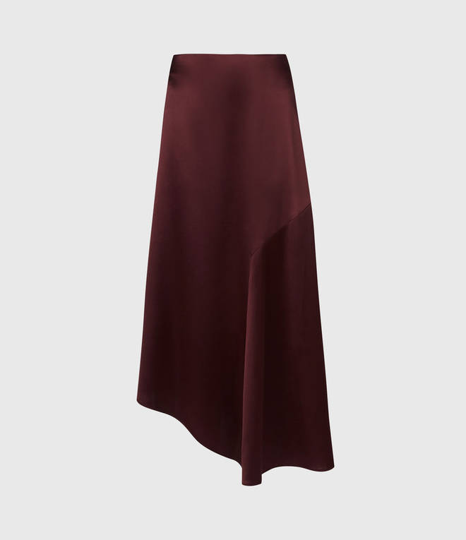 Holly's skirt is from All Saints