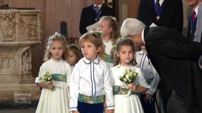 Theodora Rose at Princess Eugenie wedding