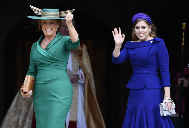 Princess Beatrice and Fergie