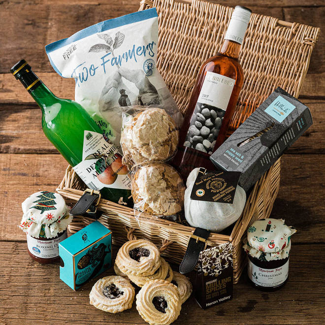 Send a delicious taste of the South West's best growers and artisan producers