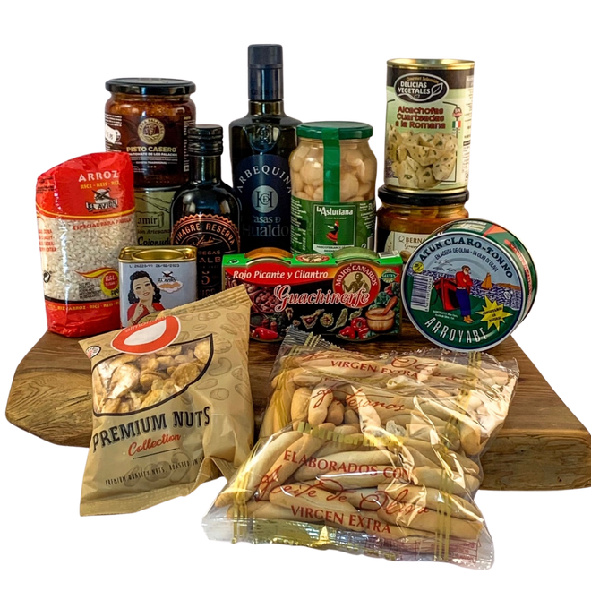 Treat yourself to delicious Spanish staples with this adventurous hamper