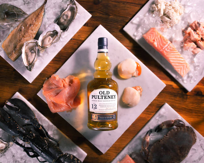 Treat a loved one to a delicious light seafood supper, and a bottle of tastebud tingling scotch