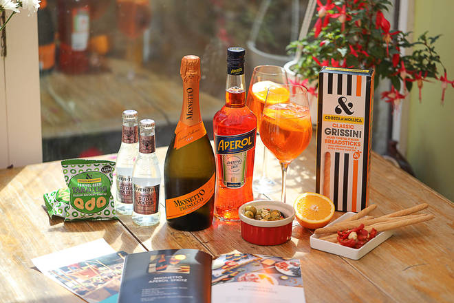What could be a nicer surprise than an Aperol Spritz in the post?