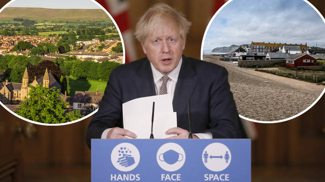 Boris Johnson is facing backlash from rural villages as the tiers are announced