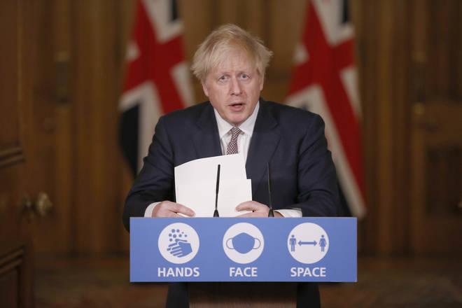 Boris Johnson announced will shall return to a tier system following lockdown
