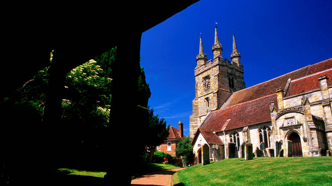 Kent village Penshurst has only seen three cases of the virus in the past week