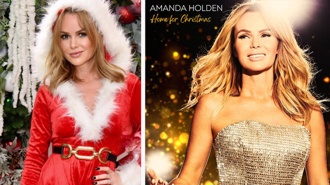 Amanda Holden has released a gorgeous new festive single