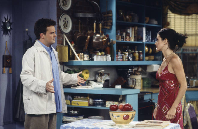 Matthew played Chandler Bing in Friends, which ran from 1994 - 2004