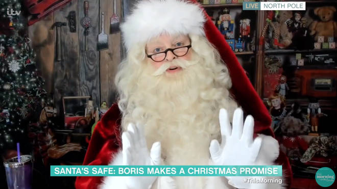 Santa assured children everywhere he will still be able to visit this year