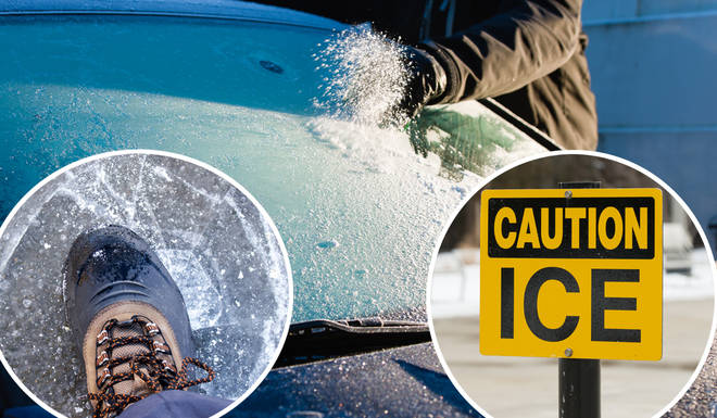 Are you guilty of using water to de-ice your car?