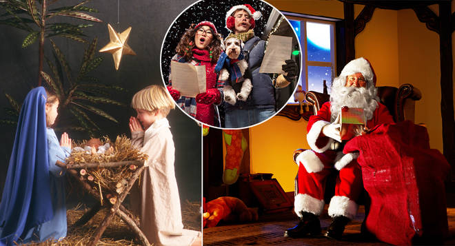 A number of festive traditions will be allowed to return this December (stock images)