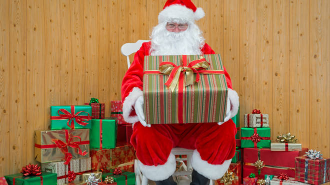 Santa's Grottos will be able to return this year (stock image)