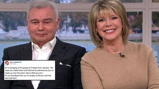 Ruth and Eamonn have released a statement on the shake-up