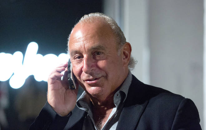 Arcadia is owned by Sir Philip Green