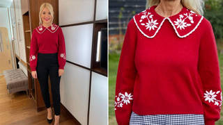 Holly Willoughby's jumper is from Rixo