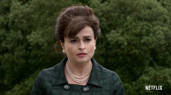 Helena plays Princess Margaret in The Crown