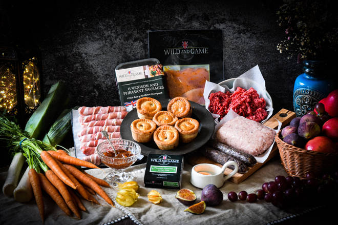 This hamper will impress lovers of traditional British meats