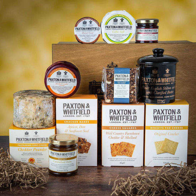 This is the luxury cheesemonger's most popular hamper, and it's not hard to see why