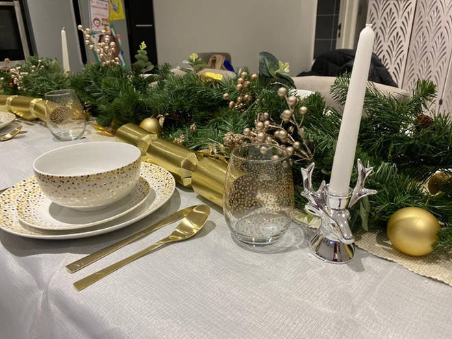 Fia was also inspired to get some gold cutlery, which look wonderful with the new dining ware
