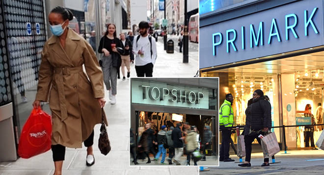 Which shops are open in England today?