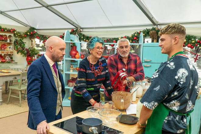 Tom Allen has joined the Bake Off Christmas special