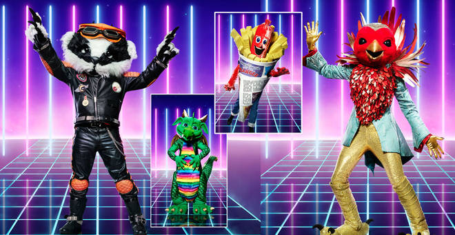 The Masked Singer costumes have been revealed