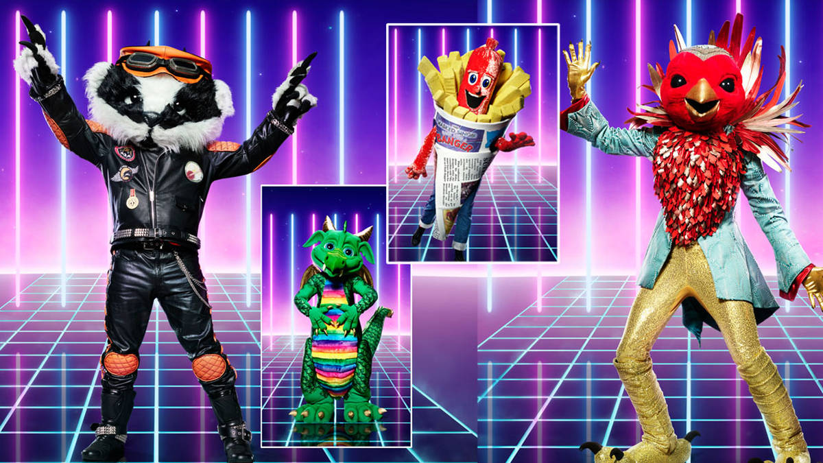 The Masked Singer UK characters unveiled - with hints about who they are