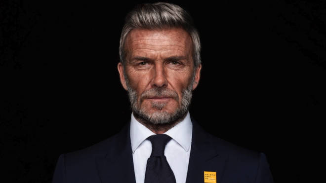 David Beckham was aged using face-swapping technology